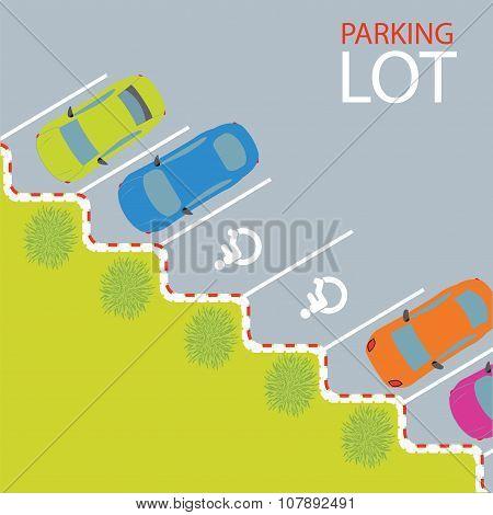Car Park Parking Lot.