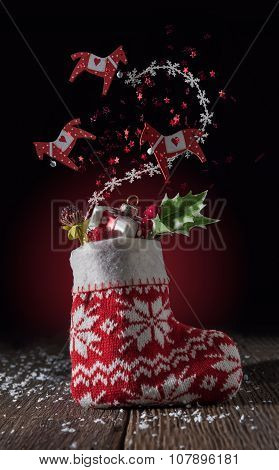 Flying Christmas Decoration