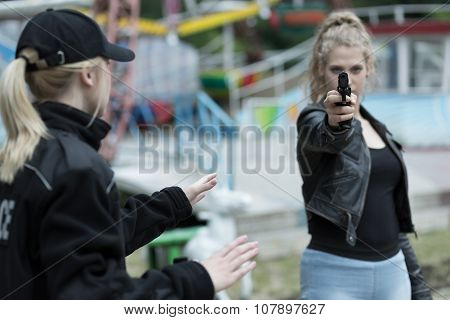 Woman Going To Kill Somebody