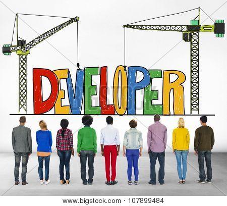 Developer Development Improve Skill Mangement Concept