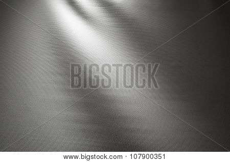 Gray Waved Fabric Background Photo Texture