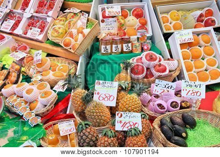 Japan Fruit Market