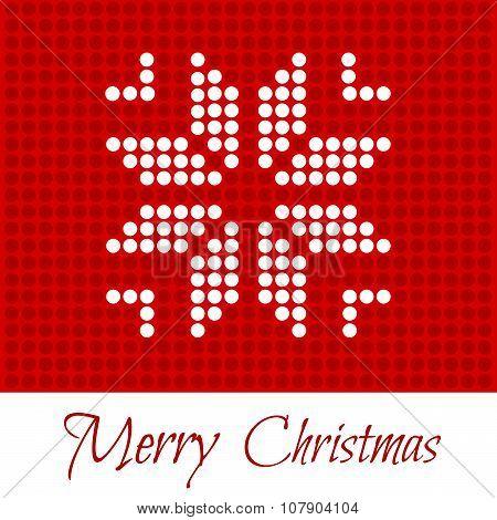Merry Christmas. Greeting Card.