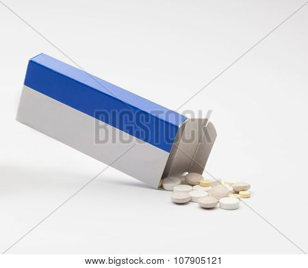 Tablets Fallen Out Of The Pack