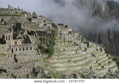 Machu Picchu In The Mist, Peru, South America