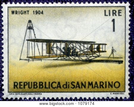 Vintage Ephemera World Stamp Rep Di San Marino