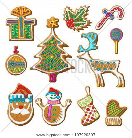 Gingerbread Cookie Set