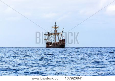Replica Of Christopher Columbus' Ship Santa Maria, Madeira