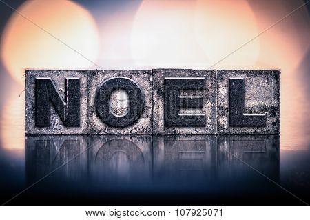 Noel Concept Vintage Letterpress Type