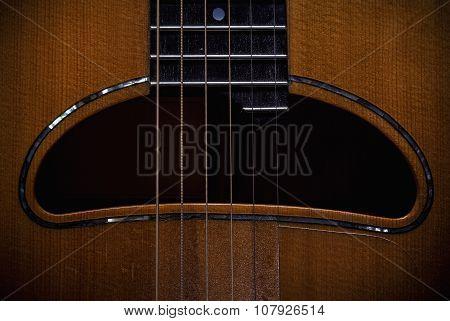 Acoustic Guitar Hole