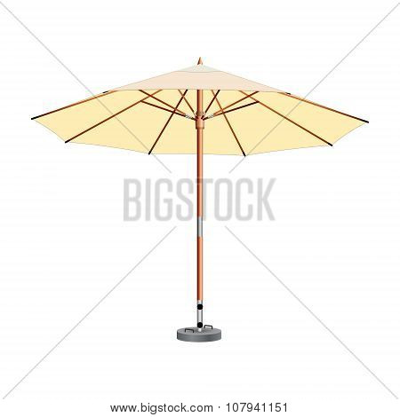 Street umbrella, umbrella, awning