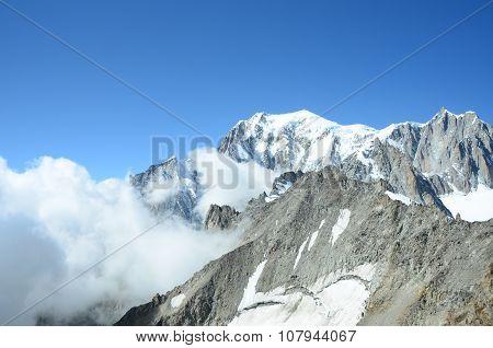 Cloud at Mont Blanc
