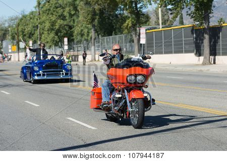 Veteran On The Motorcycle