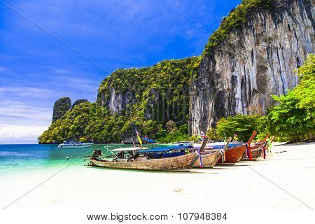tropical holidays - amazing beaches of Thailnad, Krabi