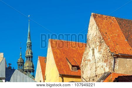 Riga. Old city.