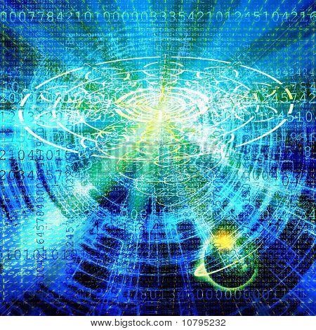 The Cosmic Technology Internet