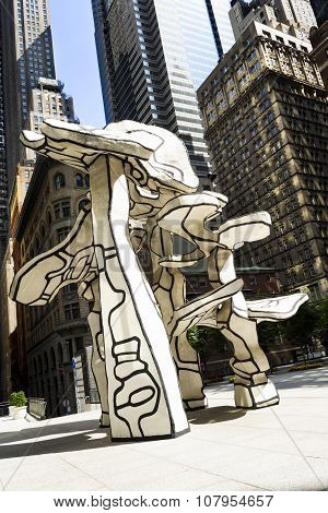 the trees of Dubuffet; NYC
