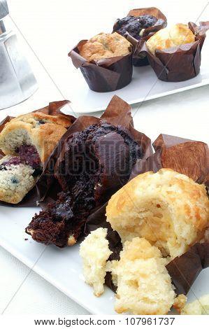 fresh muffin cake