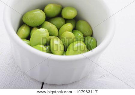 healthy fresh soya beans