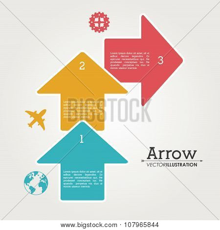 Arrow shape design