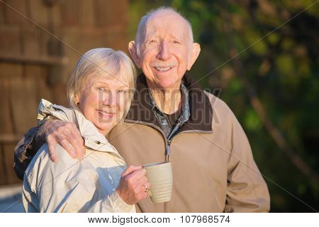 Confident Senior Couple