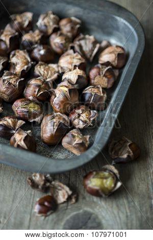 Freshly Roasted Chestnuts