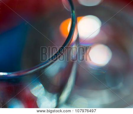 Thick Glass Abstraction