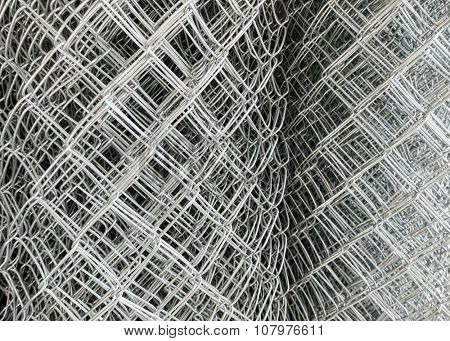 Chicken wire rolls texture
