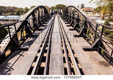 Kwai River Bridge Perspective
