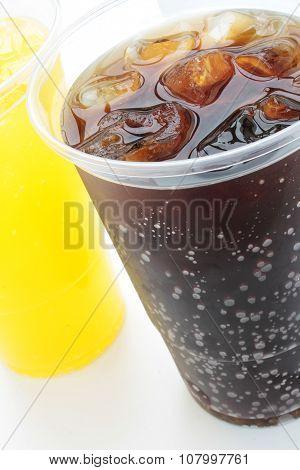 fizzy soda drinks