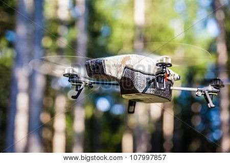 Spy Drone In The Wilderness