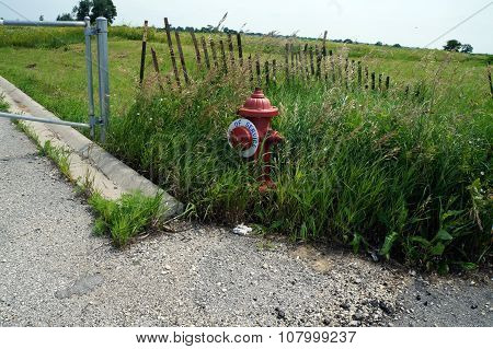 Out of Service Fire Hydrant