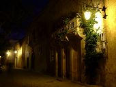 Medieval City Of Mdina By Night poster