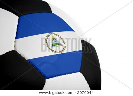 Nicaraguan Flag - Football