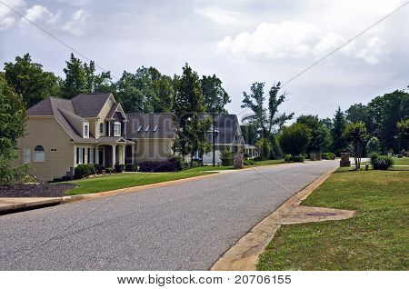 Neighborhood Street Scene