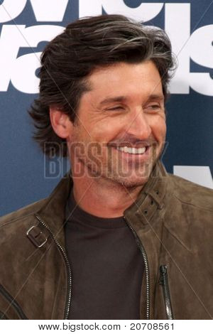 LOS ANGELES - JUN 5:  Patrick Dempsey arriving at the the 2011 MTV Movie Awards at Gibson Ampitheatre on June 5, 2011 in Los Angeles, CA