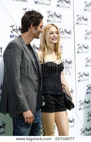 LOS ANGELES - JUN 4:  Jason Silva, Heather Graham arriving at 'Judy Moody And The NOT Bummer Summer' Premiere at ArcLight Hollywood on June 4, 2011 in Los Angeles, CA