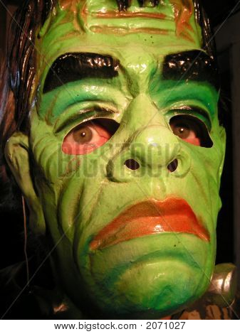 Frankenstein Halloween Mask 1