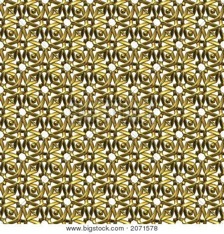 Ornamental Gold Surface