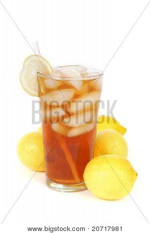 Iced Tea And Lemons