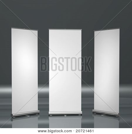 Blank Roll-up Posters
