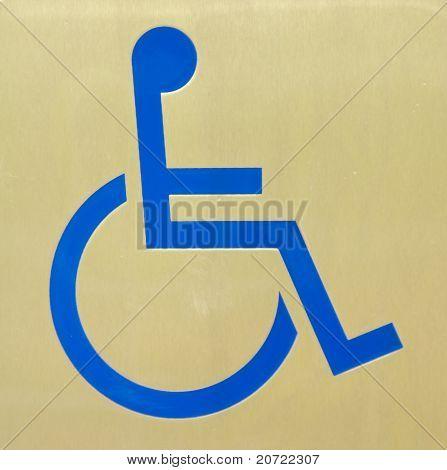 crippled toilet