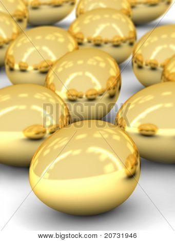 golden eggs array