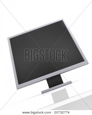 Computer-Monitor, isolated on white Background #2