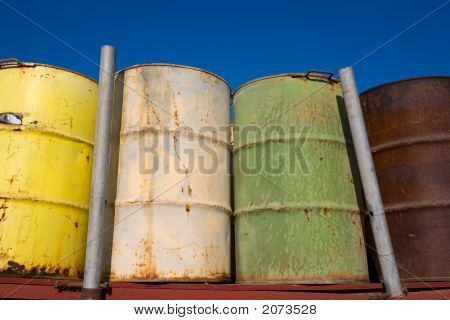 Fifty Five Gallon Drums