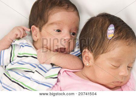 Beautiful Twin babies