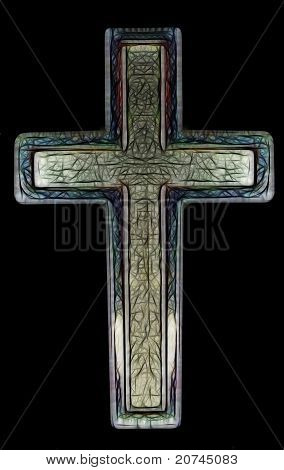 Christian Cross Art