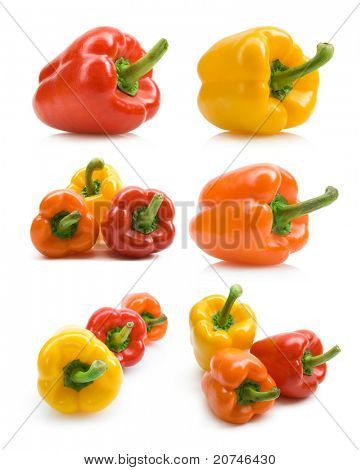 set of bellpepper images
