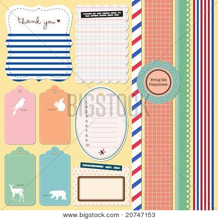 Scrapbooking Elements