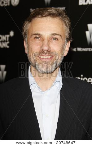 LOS ANGELES - MAR 6: Christoph Waltz at the Montblanc Charity Cocktail hosted by The Weinstein Company to benefit UNICEF held at Soho House in Los Angeles, California on March 6, 2010.